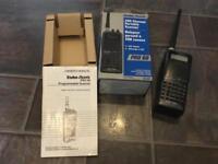 Portable handheld radio scanner