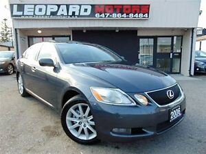 2006 Lexus GS 300 Awd,Leather,Sunroof,Heated Seats*Certified*