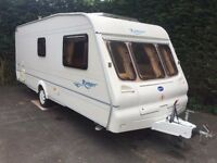 Bailey Ranger 2003 6 Berth Fixed Bunk Beds Caravan