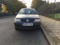 VW polo 5 door hatch back for sell, MOT, drives well.