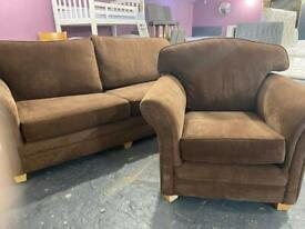 As new fabric 3 and 1 sofas