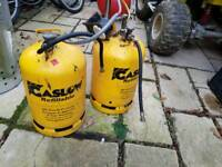 gaslow refillable lpg twin 15ltr cylinder