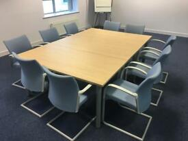 Senator Meeting Table Plus Chairs