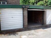 Secure garage with floor anchor off Clarkegrove Road