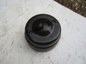 Vintage kerson snipe no 5 Bakelite & Ceramic Toggle Light Switches