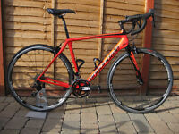 Cannondale synapse full carbon 105 road bike 2016/2017