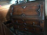 Antique wooden desk (reduced!)
