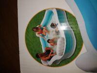 Intex swimming pool 4 seats + drink holders