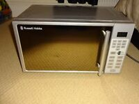 Russell Hobbs 800w silver microwave