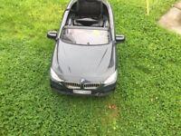 Electric car with parent control