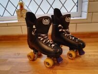 Quad Hockey style roller skates, used for sale  Poole, Dorset