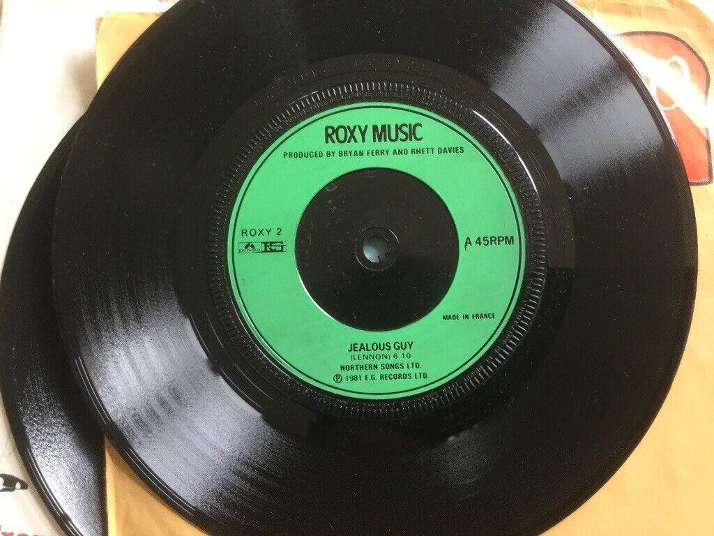 ROXY MUSIC VINYL ORIGINAL RECORD JEALOUS GUY | in Alton, Hampshire | Gumtree