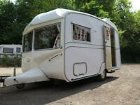 2 berth classic vintage caravan Royale Tourstar, lantern roofed, very good condition.