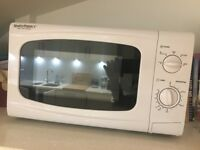 New Microwave - Simply Perfect - white . Perfect condition