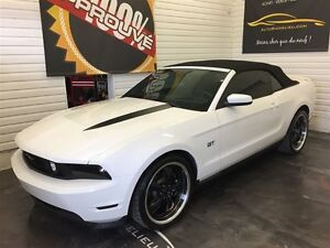 2010 Ford Mustang GT *Convertible*Cuir*AC*Mags