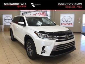 2017 Toyota Highlander XLE with Toyota warranty Extension!
