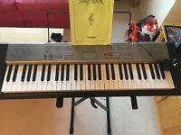CASIO LK-120 ELECTRONIC KEYBOARD AND STAND