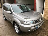 LOVELY NISSAN X-TRAIL 2.2 DCI. FULL SERVICE HISTORY. 2 OWNERS. WARRANTY!
