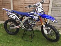 Yamaha yzf 250*** cosworth*** factory race bike full ohlins not ktm Kxf rmz crf 450