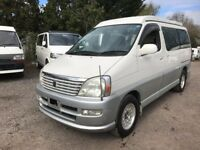 2001 TOYOTA HIACE REGIUS 2.7 PETROL 4 BERTH POP TOP CAMPERVAN NEW SIDE CONVERSION