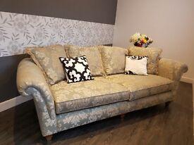 large luxurious modern 2 seater sofa