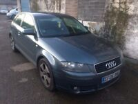2005 05 AUDI A3 2.0 TDI SPORT 3DR MOT 03/18 DRIVE VERY WELL CHEAPEST IN COUNTRY PX SWAPS