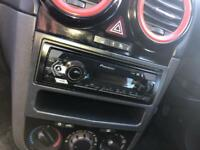 Car Poineer stereo and sub