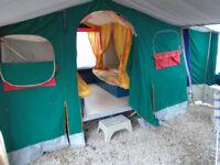 Raclet Acropolis 2002 6 berth trailet tent, superb condition