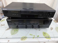 Great Powerful Sony Amplifier and Sony Cd player Superb sounding Lovely Condition