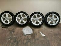 Genuine Audi Alloys Alloy Wheels 225/45/17 (Will fit A4,A5,A6,PASSSAT,SUPERB, CADDY ETC)