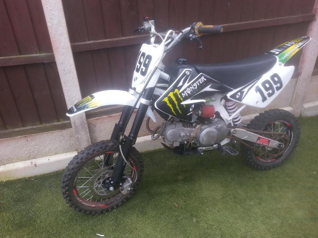 pit bike yx 140 pitbike 140cc crf 70 size frame | in Shirebrook ...