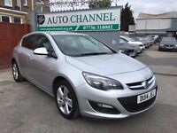 Vauxhall Astra 1.4 i VVT 16v SRi 5dr£4,845 p/x welcome 1 YEAR FREE WARRANTY. NEW MOT