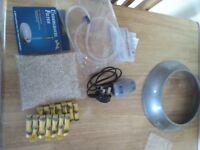 Complete fish bowl starter kit