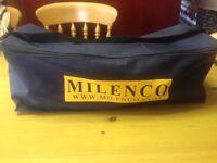 Pair of Milenco Aero Caravan or Trailer Towing Mirrors and Storage Bag