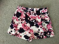 Pink and Blue floral shorts, River Island