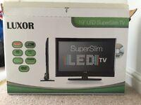 Luxor 19inch Super Slim LED TV.