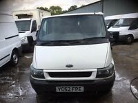 FORD TRANSIT SWB LOW ROOF.52 REG.STARTS AND DRIVES.MOTD.ELE WINDOWS