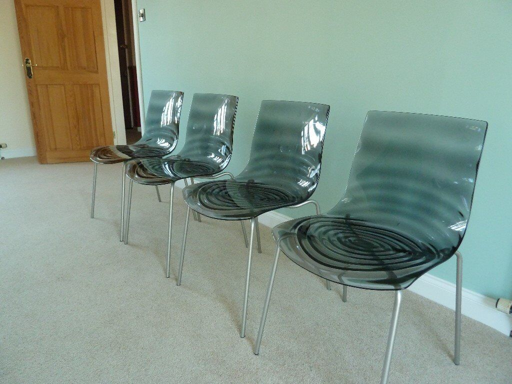 Calligaris L\'Eau Set of 4 Dining Chairs | in Congleton, Cheshire ...