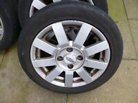 4 FORD 15IN ALLOY WHEELS