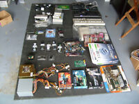 Computer parts bundle,some brand new in boxes,motherboard,cpu,memeory etc