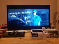 "Sony 46"" Smart TV 3D HD WIFI Soundbar Package (Glasgow West End)"