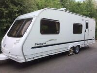 2006 Sterling Europa Vitesse 6-Berth Twin Axle Caravan Fixed Bunk - Available Soon!