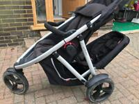 Phil and Ted Vibe double pushchair