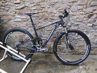 Mountain bike, full suspension, Giant Anthem X1 29er (med)