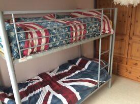 Shortie bunk beds