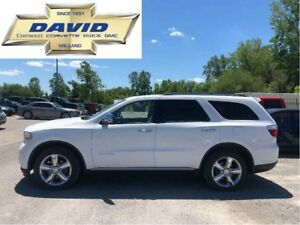 2013 Dodge Durango CITADEL AWD 7 PASSENGER/ LEATHER/ QUADS/ NAV.