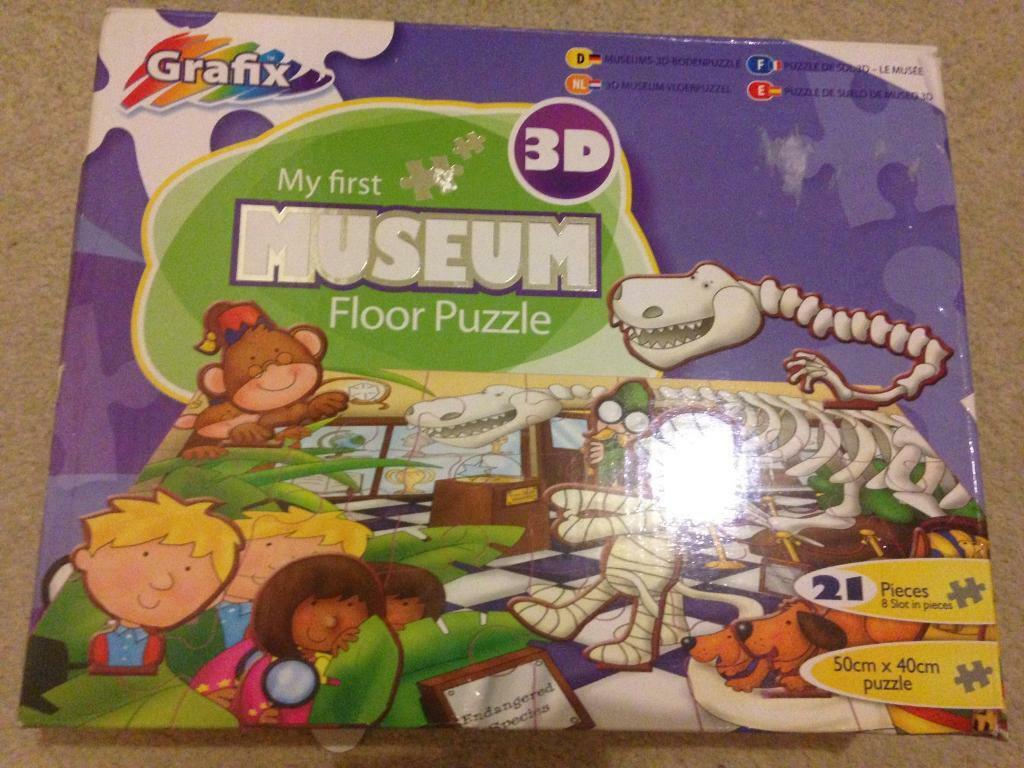 My first museum jigsaw