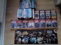 Huge bundle of War DVDs & Videos