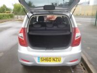 Hyundai I10 Comfort,1248 cc 5 door hatchback,Rare Auto,FSH,Full MOT,super low mileage,17,500 miles