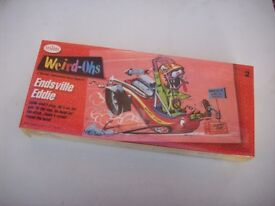 Weird-ohs plastic self assembly model kits by Testors